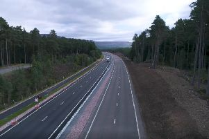 The report called for new roadbuilding to end within around five years. Picture: Transport Scotland