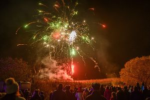 Public displays are fine, but Hayley thinks many people shouldn't be trusted with fireworks. Picture: Phil Wilkinson