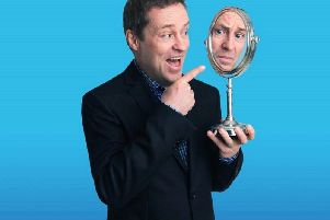 Ardal O'Hanlon is back on the standup stage with The Showing Off Must Go On, currently touring the UK and Ireland