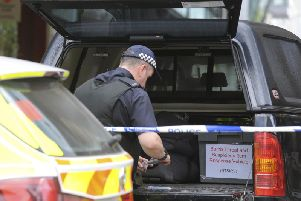 The inquiries are in connection with the incident on King Street last Saturday, when an explosive ordnance disposal van was seen on the street. Picture: AP