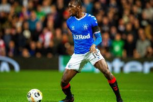 Glen Kamara in action for Rangers