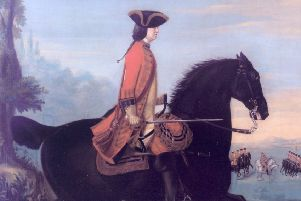 Lt General Sir Henry Hawley, painted perhaps a couple of years after the 1746 Battle of Falkirk Muir.