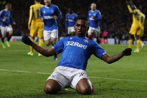Alfredo Morelos has been in irresistible form for Rangers. Picture: Ian MacNicol/Getty Images