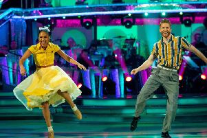 Professional dancer Neil Jones, 37, reunited with the former Lioness, 35, after he missed two live shows because of an injury.