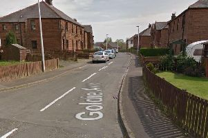 The man was confronted and assaulted by another man on his doorstep at around 9.10pm on Friday in Goldie Avenue. Picture: Google Maps