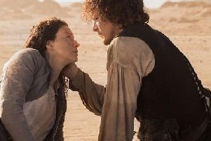 Caitriona Balfe and Sam Heughan have become huge international stars since being cast in Outlander.