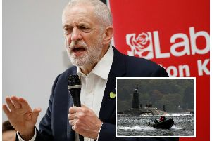 Labour leader Jeremy Corbyn is under pressure to confirm his party's stance on using the UK's nuclear deterrent. Picture: Getty Images