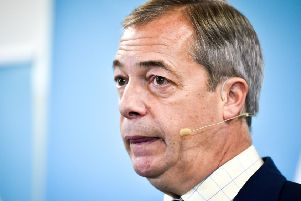 Nigel Farage has decided to give Boris Johnson 'half a chance' (Picture: Ben Birchall/PA Wire)