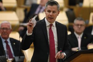 Finance secretary Derek Mackay. Picture: Andrew Cowan/Scottish Parliament/PA Wire