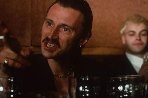 Carlyle shot to widespread fame after playing Francis Begbie in Trainspotting.