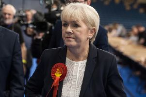 Johann Lamont is one of three Scottish Labour MSPs who has signed a declaration on women's sex-based rights.
