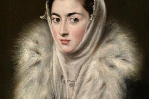 Lady in a Fur Wrap, Alonso Sanchez Coello (1580-1588), copyright  CGS CIC Glasgow Museums Collection