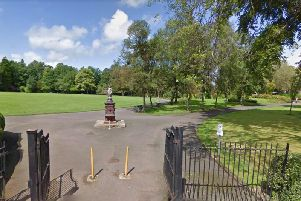 The teenager was found in Christie Park, Alexandria, near the local school. Picture: Google