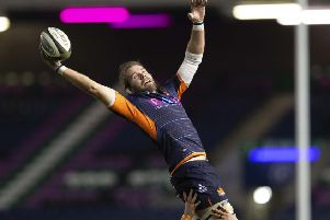 Ben Toolis wants Edinburgh to keep their momentum going as more World Cup players return to club duty. Picture: SNS/SRU