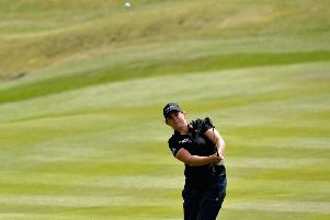 Michele Thomson during the 2018 European Championships at Gleneagles. Picture: Mark Runnacles/Getty Images