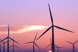 The firm is a major generator of wind energy. Picture: Ian Rutherford