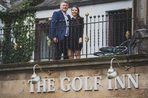 Brett Lawrence and Gillian McLaren are the new owners of The Golf Inn in St Andrews. Picture: Contributed
