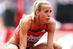 Lynsey Sharp is taking a break from athletics. Picture: Getty Images