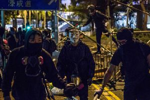 Hong Kong has been rocked by months of civil unrest. Picture: AFP/Getty Images