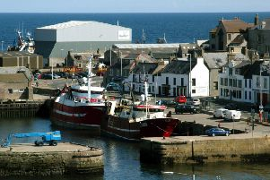 The man had started fishing in grounds to the north of Macduff.