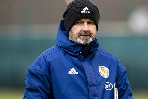 Scotland head coach Steve Clarke needs to find some positivity. Picture: Craig Williamson/SNS