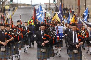 St Andrews Day March 2003.