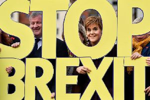 """""""It's clear that at this election, a vote for the SNP is a vote to protect Scotland from the serious economic damage that a hard Tory Brexit will do, says Nicola Sturgeon. Picture: Getty Images"""