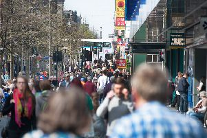 The rates bill for a Sauchiehall Street store threatens to rise more than twofold. Picture: John Devlin
