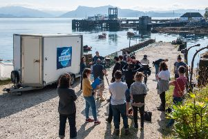 The filming of Bannan on Skye