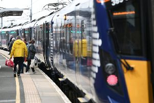 Most so-called fast journeys on the line will be up to three minutes slower. Picture: John Devlin