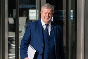 SNP Westminster leader Ian Blackford said the exclusion of Nicola Sturgeon and other party leaders from the ITV debate was a democratic disgrace. Picture: PA
