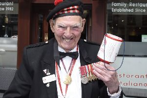 Tom Gilzean collected more than �1m for charity. Picture: Greg Macvean