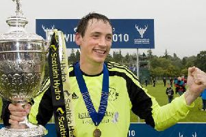Musician Gary Innes was a five-times winner of the Camanachd Cup during a glittering career with Fort William.