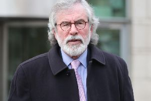 Mr Adams' legal team will argue that his detention was unlawful. Picture: PA