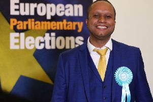 MEP Louis Stedman-Bryce has quit the Brexit Party