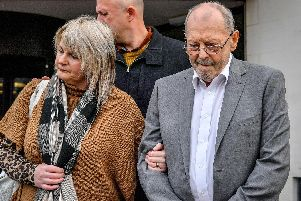 Geoffrey Bran, 71, was accused of pushing or throwing a deep fat fryer onto Mavis Bran, his wife of 38 years, leaving her with horrific burns that led to her death six days later.