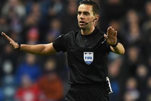 Andrew Dallas will take charge of Celtic's home match against Livingston