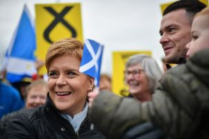 The SNP leader wants a second referendum to be staged on Brexit next year. Picture: Jeff J Mitchell/Getty Images