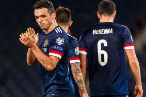 John McGinn turned in a man-of-the-match performance for Scotland against Kazakhstan. Picture: SNS