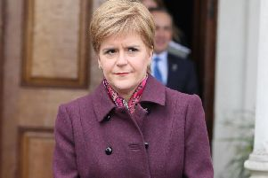 Nicola Sturgeon was in Dundee on the election campaign trail, and said the future of Scotland was at stake.