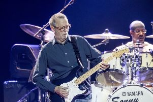 Eric Clapton is one of the musicians to be diagnosed with tinnitus. Picture: Shutterstock