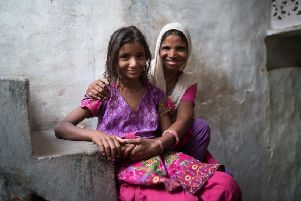 Ranjita and her daughter Soniya