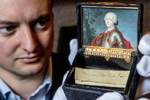 The lock of hair belonging to Bonnie Prince Charlie which helped the Young Pretender promote his cult status centuries before Instagram.