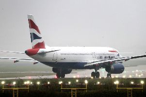 Flights to and from the UK's two busiest airports, Heathrow and Gatwick, appear to be among those affected. Picture: PA