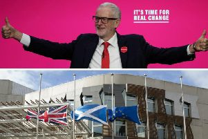 At the heart of Jeremy Corbyn's offer for Scotland is the promise of 100bn of investment for over ten years. Pictures: PA
