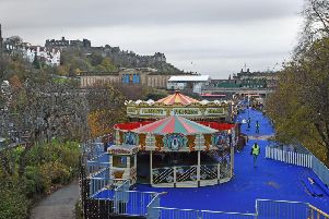 Edinburgh Christmas market has proved controversial, but popular this year (Picture: Neil Hanna)