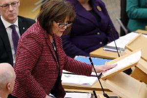 Jeane Freeman must now 'consider her position' as Health Secretary, says Brian Wilson (Picture: Andrew Cowan/Scottish Parliament)