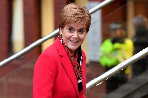 First Minister Nicola Sturgeon. Picture: PA