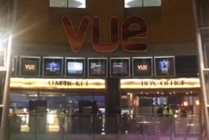 Police were called to Star City on Saturday evening following reports of youths with machetes at a screening of Frozen 2.