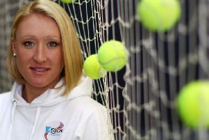 Scottish tennis star was just 30 when she passed away in May 2014.